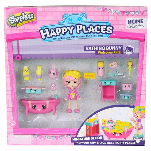 Happy Places Shopkins™ Welcome Pack - Bathing Bunny - image 1 of 5