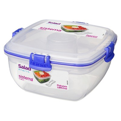 Sistema Salad To Go 37.2oz