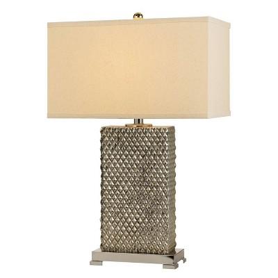 "26.5"" Tavros Ceramic Table Lamp - Cal Lighting"