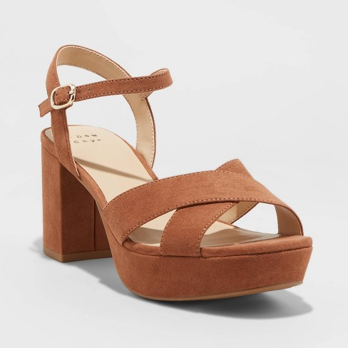 Women's Gabriella Platform Heel Pumps - A New Day™ - image 1 of 3