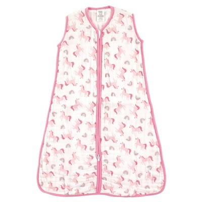 Luvable Friends Unisex Baby Sleeveless Muslin Cotton Sleeping Bag Sack Blanket - 0-6M