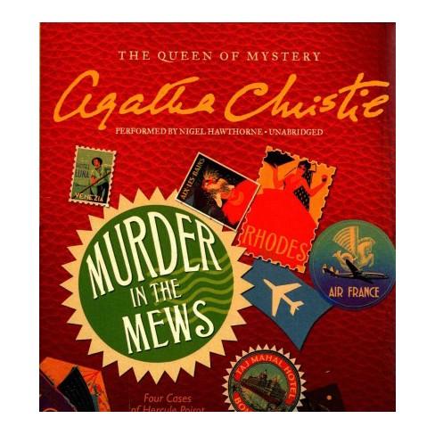Murder In The Mews Unabridged Cdspoken Word Agatha Christie