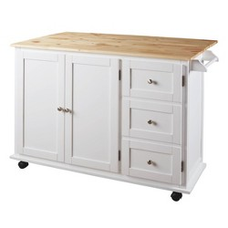 Withurst Kitchen Cart White - Signature Design by Ashley