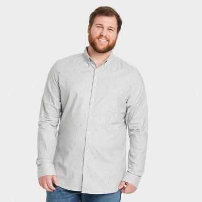 Men's Slim Fit Stretch Oxford Long Sleeve Whittier Button-Down Shirt - Goodfellow & Co™