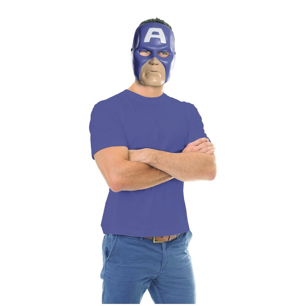 Men's Marvel Universe Captain America Costume Mask