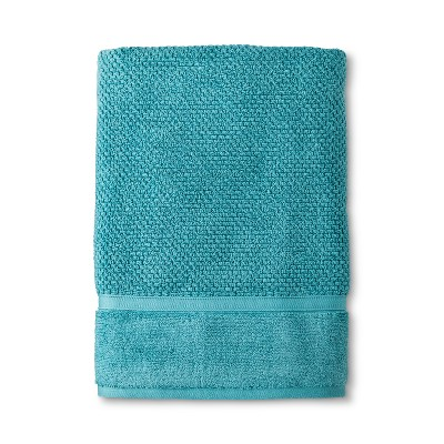 Performance Texture Bath Sheet Teal - Threshold™