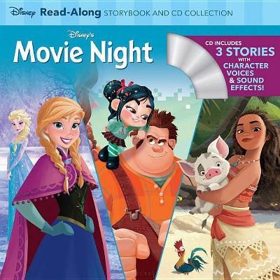 Disney's Movie Night : Wreck-it-Ralph / Frozen / Moana -  (Paperback)