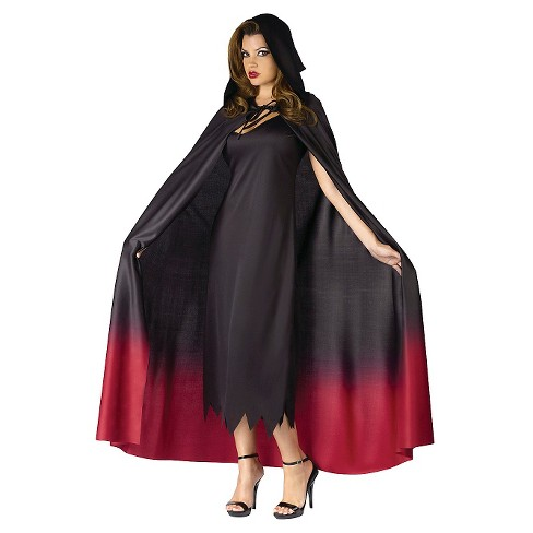 Women s Hooded Costume Cape Ombre   Target e756236a0c