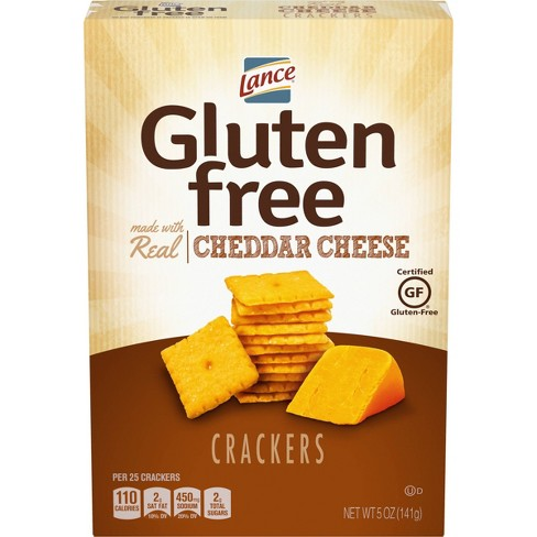 Lance Real Cheddar Cheese Gluten Free Crackers - 5oz - image 1 of 4