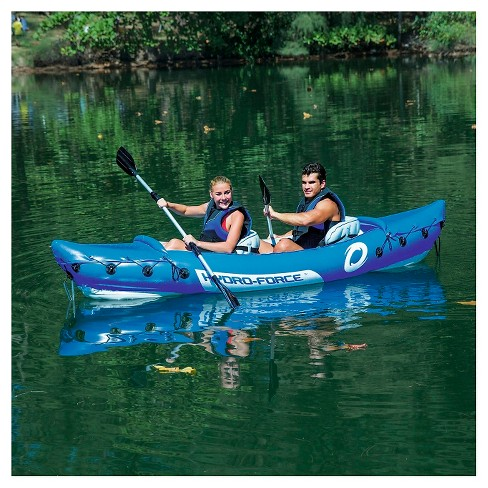 Hydro-Force™ Lite-Rapid X2 Kayak - Blue - image 1 of 6