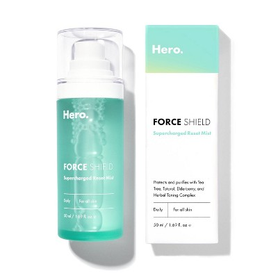 Hero Cosmetics Force Shield Supercharged Resetting Mist - 1.69 fl oz