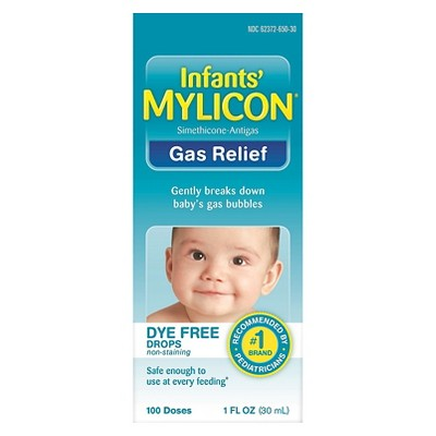 Mylicon Infants' Dye Free Gas Relief 100 Doses - 1 fl oz