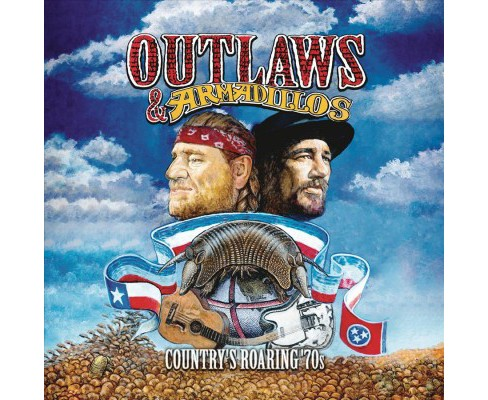 Various - Outlaws & Armadillos:Country's Roarin (Vinyl) - image 1 of 1