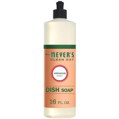 Mrs. Meyer's Geranium Dish Soap - 16 fl oz