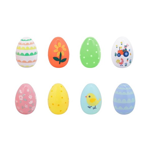8ct Spring Patterns Easter Plastic Eggs - Spritz™ - image 1 of 1