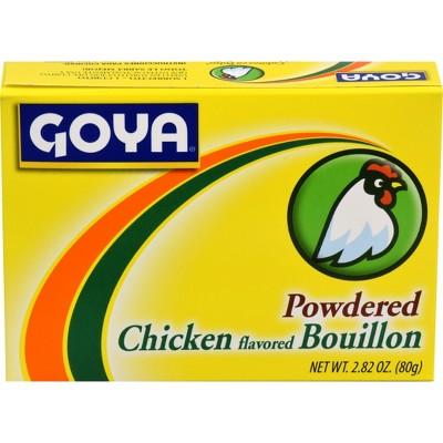 Goya Powdered Chicken Bouillon 2.82oz