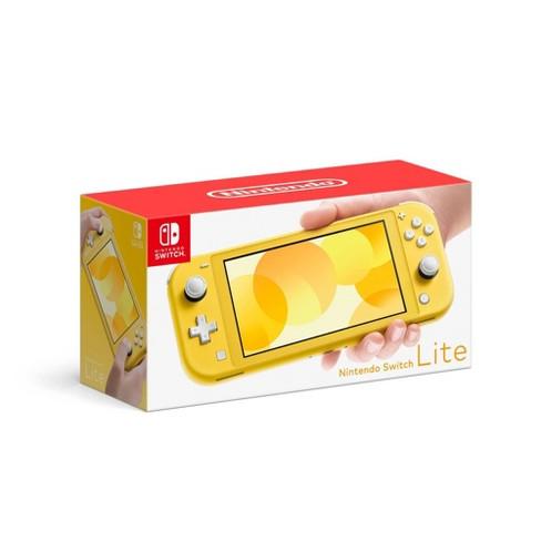 Nintendo Switch Lite Yellow Target