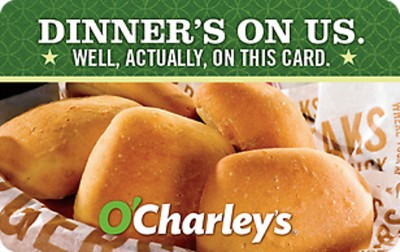 O'Charley's Restaurant and Bar Git Card $25 (Email Delivery)