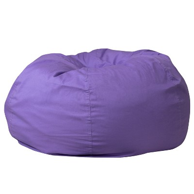 Flash Furniture Oversized Bean Bag Chair for Kids and Adults