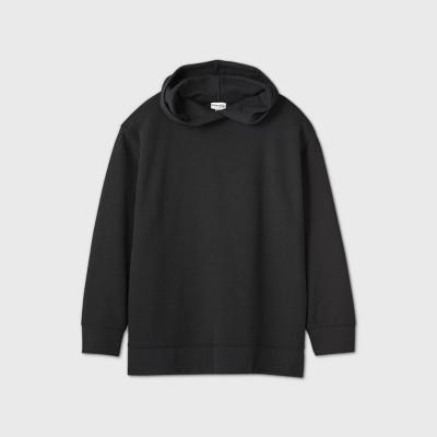 Women's Plus Size Leisure Hooded Sweatshirt - Ava & Viv™ Black 4X
