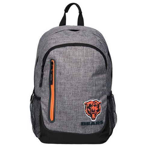 NFL Chicago Bears Forever Collectibles - Heather Grey Bold Color Backpack - image 1 of 3