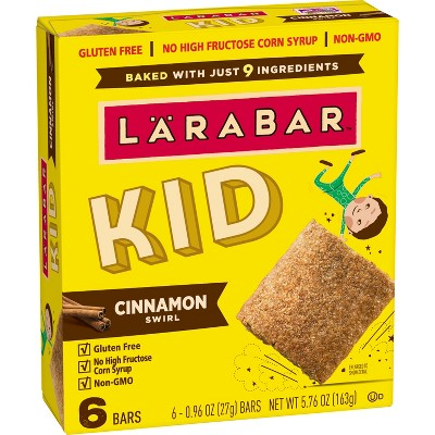 Larabar KID Cinnamon Swirl Protein Bars - 6ct