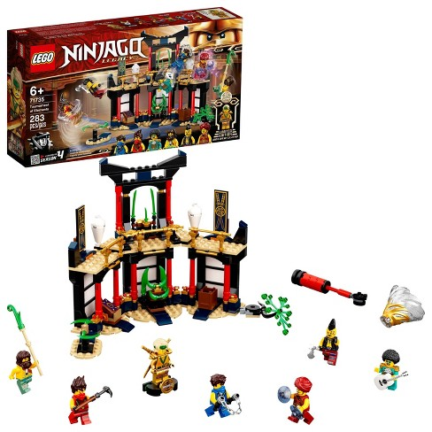 LEGO NINJAGO Legacy Tournament of Elements; Temple Building Set Featuring Ninja Minifigures 71735 - image 1 of 4