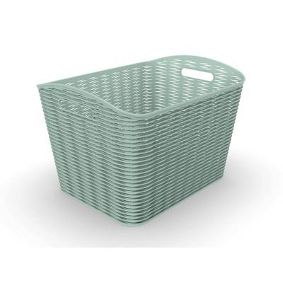 26L Wave Design Curved Basket - Room Essentials™