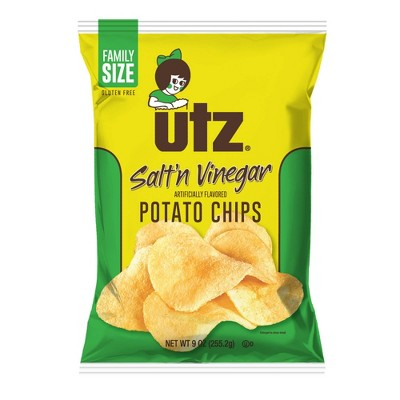 Utz Salt & Vinegar Potato Chips - 9oz