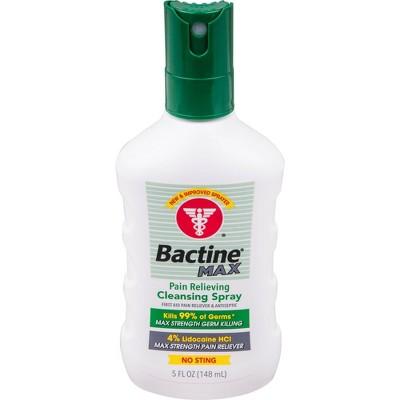 Bactine Max Spray - 5oz