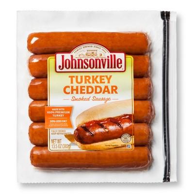 Johnsonville Cheddar Turkey Smoked Sausage - 13.5oz