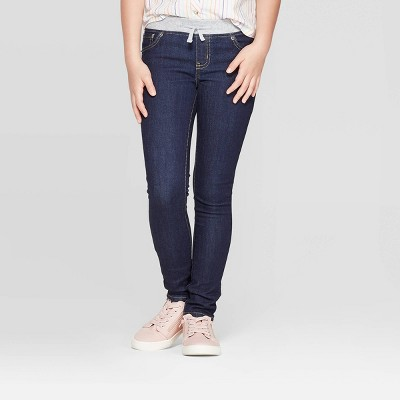 Girls' Knit Waist Low-Rise Jeans - Cat & Jack™