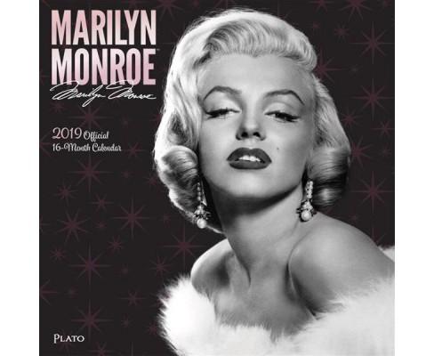 Marilyn Monroe 2019 Calendar Paperback Target