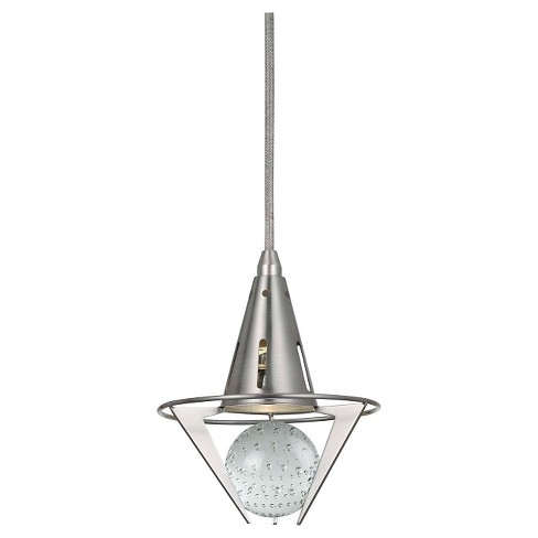 Cal Lighting Dimmable LED pendant with Clear Accent - image 1 of 1