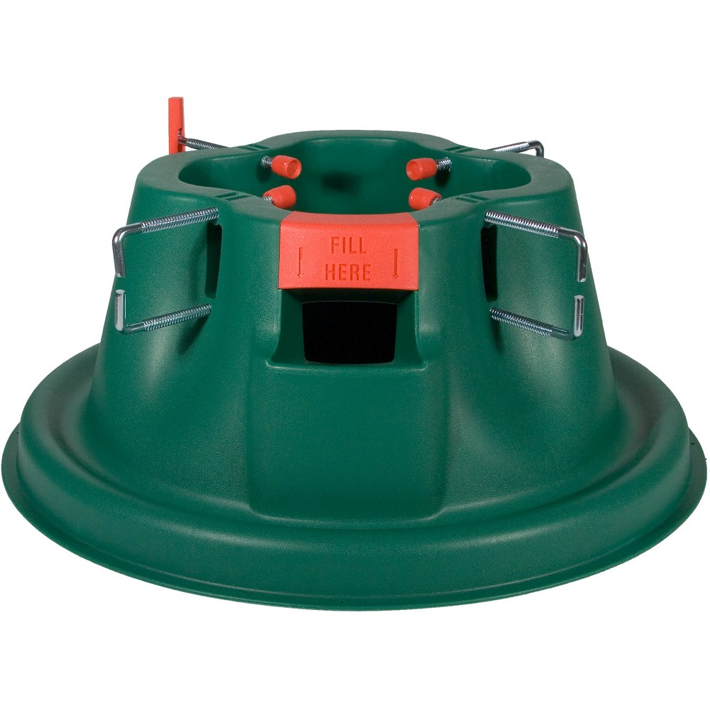 Image of Home Logic 8ft EZ H20 Christmas Tree Stand Green, Multi-Colored