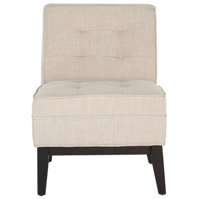 Angel Armless Club Chair Linen - Safavieh