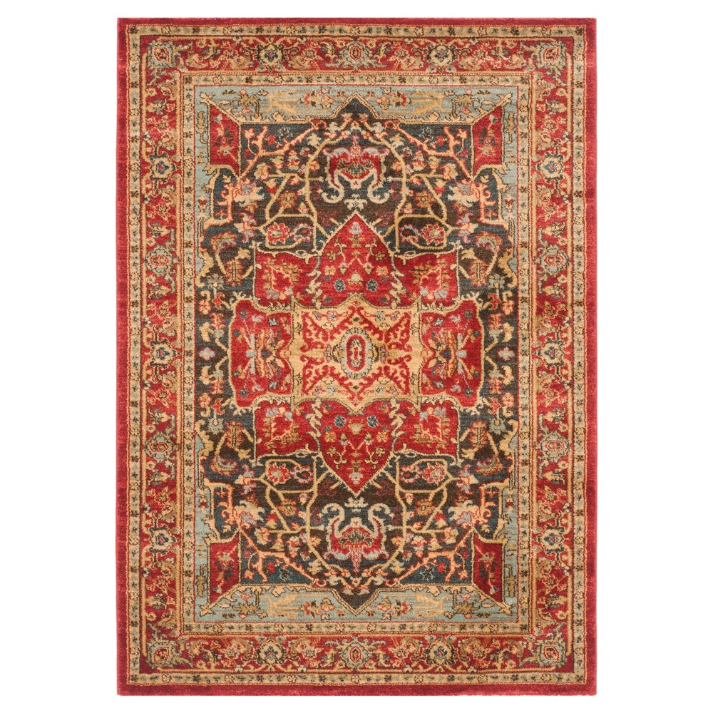 Hawly Accent Rug Red Red 3 39 X 5 39 Safavieh