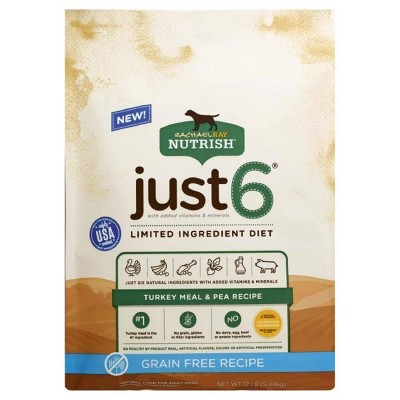 Rachael Ray Nutrish Just 6 Grain Free