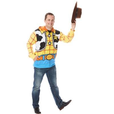 BuySeasons Toy Story Woody Mens Hoodie Costume (One Size)