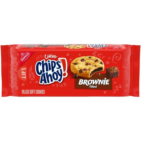Chips Ahoy! Chewy Brownie Filled Chocolate Chip Cookies - 9.5oz - image 1 of 4