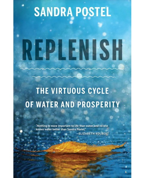 Replenish : The Virtuous Cycle of Water and Prosperity -  by Sandra Postel (Hardcover) - image 1 of 1
