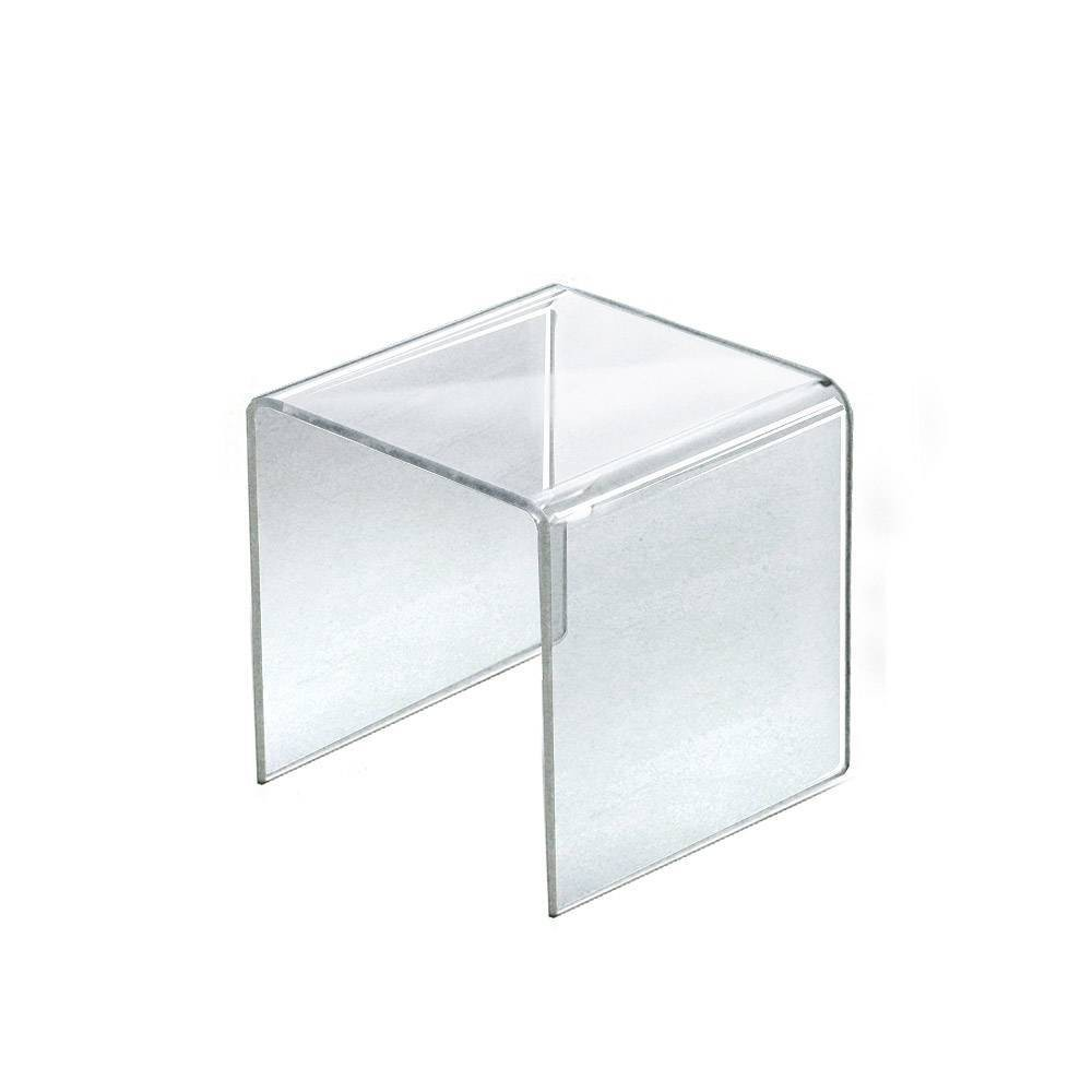 Azar Displays 7 5 4pk Acrylic Riser Display Square