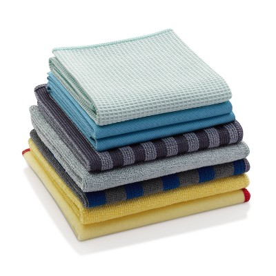 E-Cloth Home Cleaning Microfiber Cloth Set - 8pc