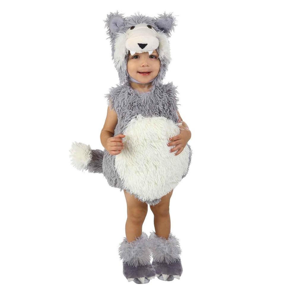Low Price Baby Vintage Wolf Costume 18 24M Infant Unisex White
