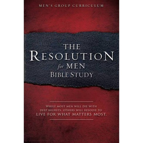 The Resolution for Men - Bible Study - by  Stephen Kendrick & Alex Kendrick (Paperback) - image 1 of 1