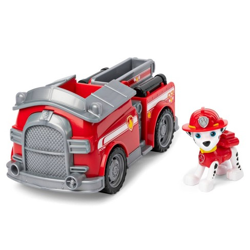 PAW Patrol Fire Engine Vehicle with Marshall - image 1 of 4
