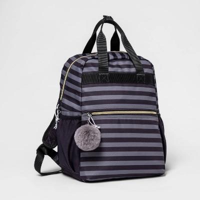 Kids' Top Handle 15.5'' Backpack Stripe - Cat & Jack™