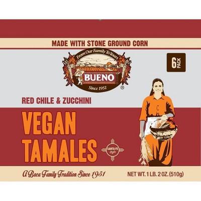 Bueno Frozen Vegan Tamales - 18oz