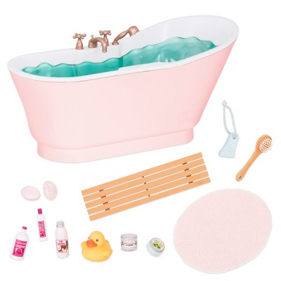 "Our Generation Bathtub Accessory with Sounds for 18"" Dolls - Bath & Bubbles Tub Set"