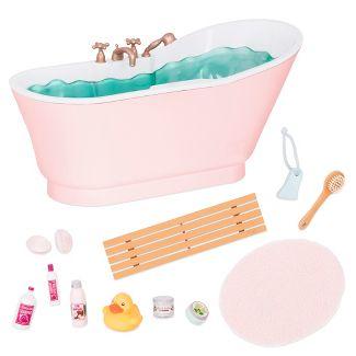 Our Generation Deluxe Bath & Bubbles Tub Set with Sounds